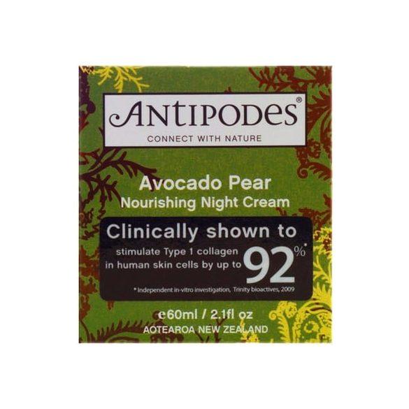 Antipodes - Avocado Pear tápláló éjszakai krém