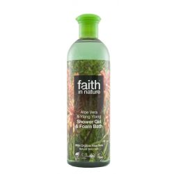 Faith in Nature - Bio aloe vera és ilang-ilang tusfürdő
