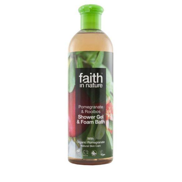 Faith in Nature - Bio gránátalma és rooibos tusfürdő