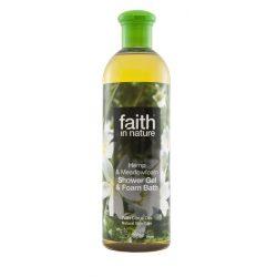 Faith in Nature - Kender és tajtékvirág tusfürdő