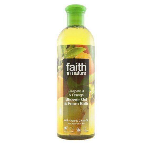 Faith in Nature Grapefruit és narancs tusfürdő
