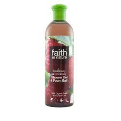 Faith in Nature Málna és vörösáfonya tusfürdő
