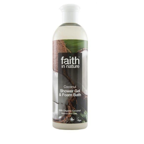Faith in Nature Kókusz tusfürdő